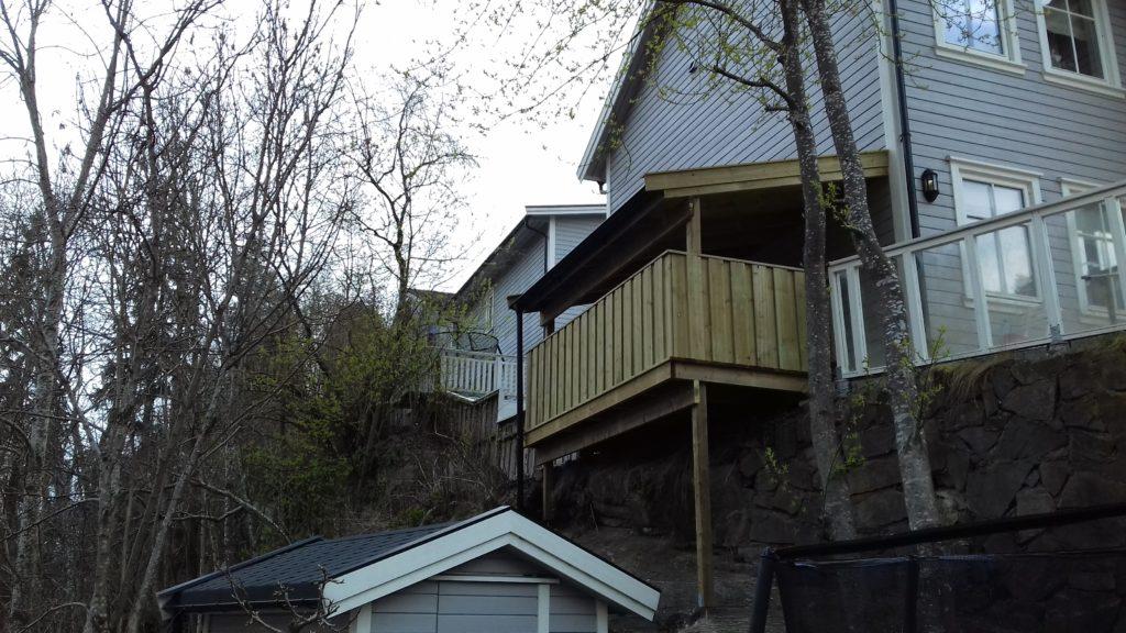 balkong med rekkverk 2