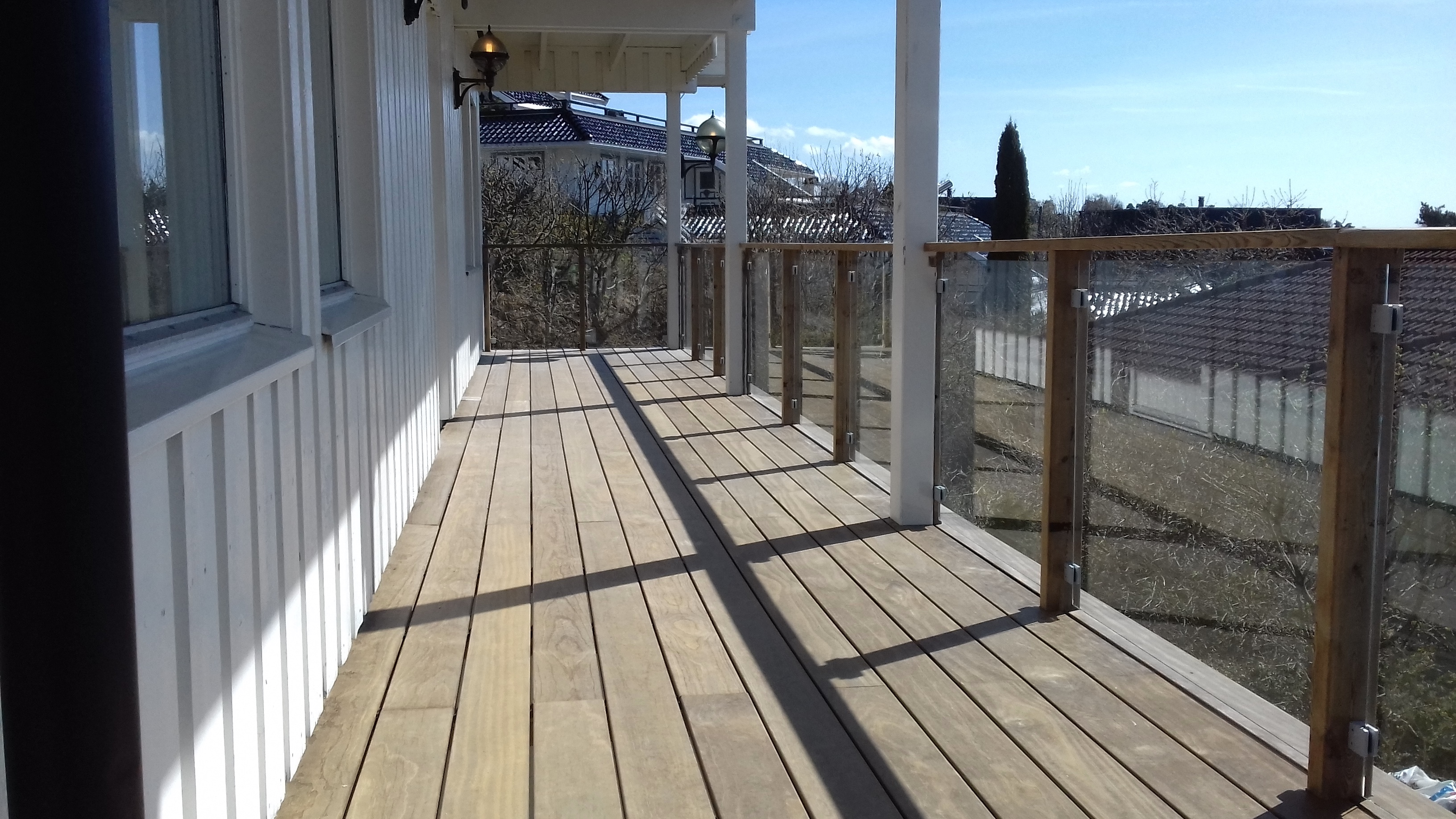 terrasse i Kebony