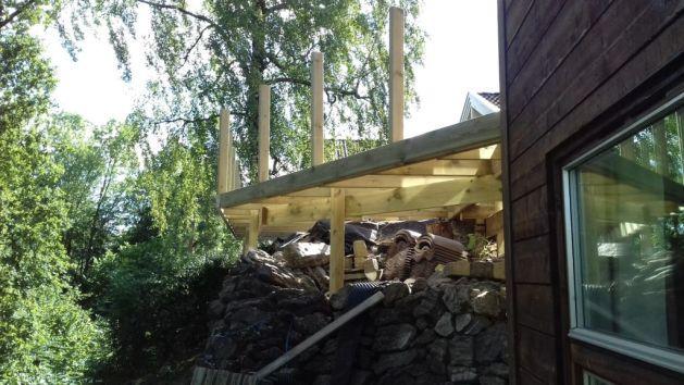 terrasse over steiner