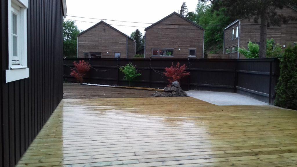 Utvidelse av terrasse