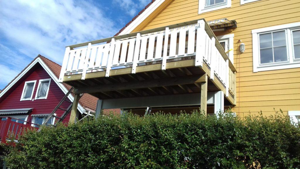 utvidelse av balkong