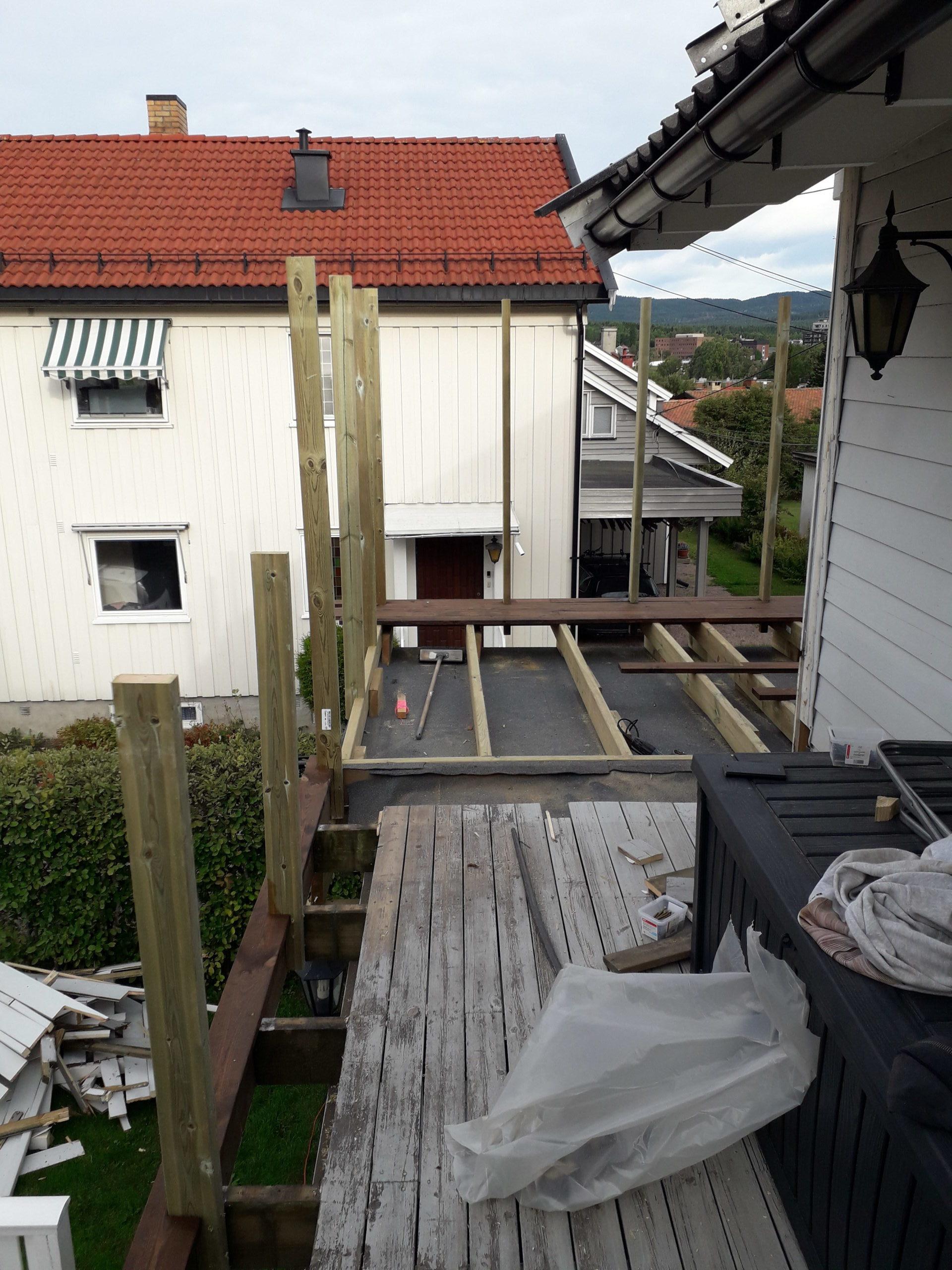 tak terrasse med pappmembran 2