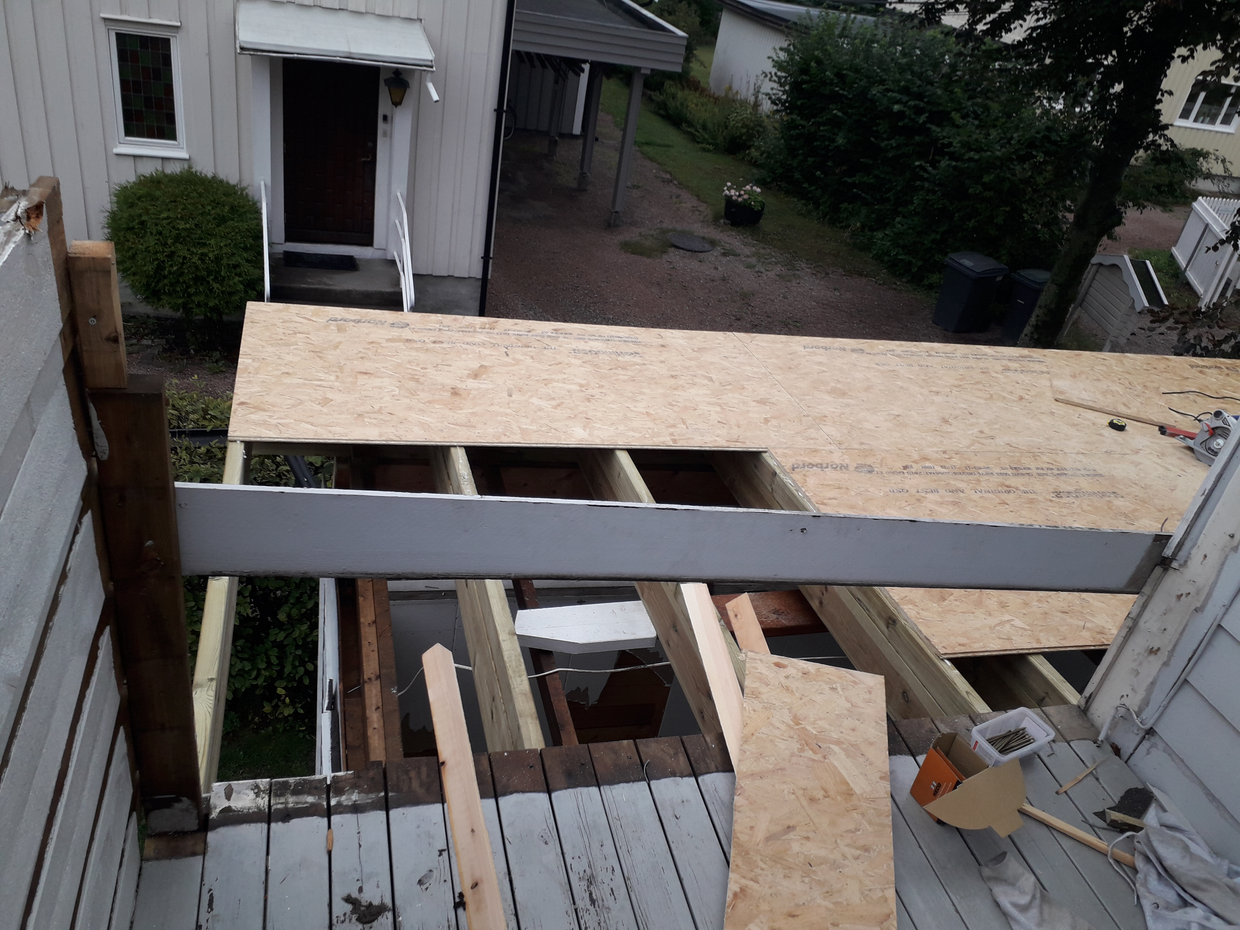 tak terrasse med pappmembran 3